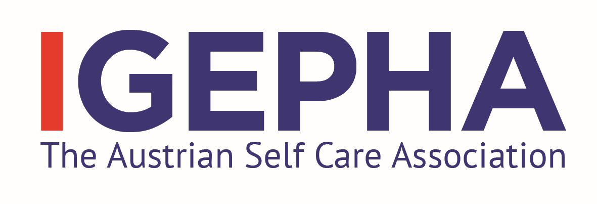 Logo IGEPHA – The Austrian Self Care Association